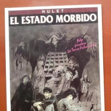 Cómics: HULET EL ESTADO MORBIDO. ACTO PRIMERO: LA TORRE FULMINADA 1994 ED. ZINCO. Lote 122993179