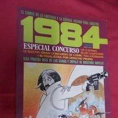 Cómics: 1984 ESPECIAL CONCURSO. TOUTAIN EDITOR. Lote 124154511