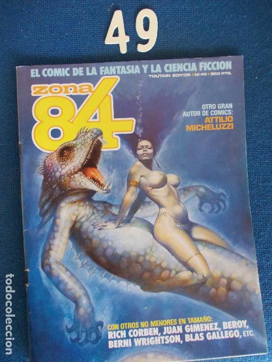 COMIC ZONA 84 Nº 49 (Tebeos y Comics - Toutain - Zona 84)