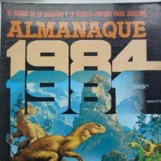 Cómics: TOUTAIN. 1984. ALMANAQUE 1981.. Lote 125313527