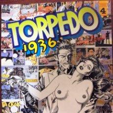Cómics: COMIC N°4 TORPEDO 1936 TOUTAIN 1984. Lote 125401539