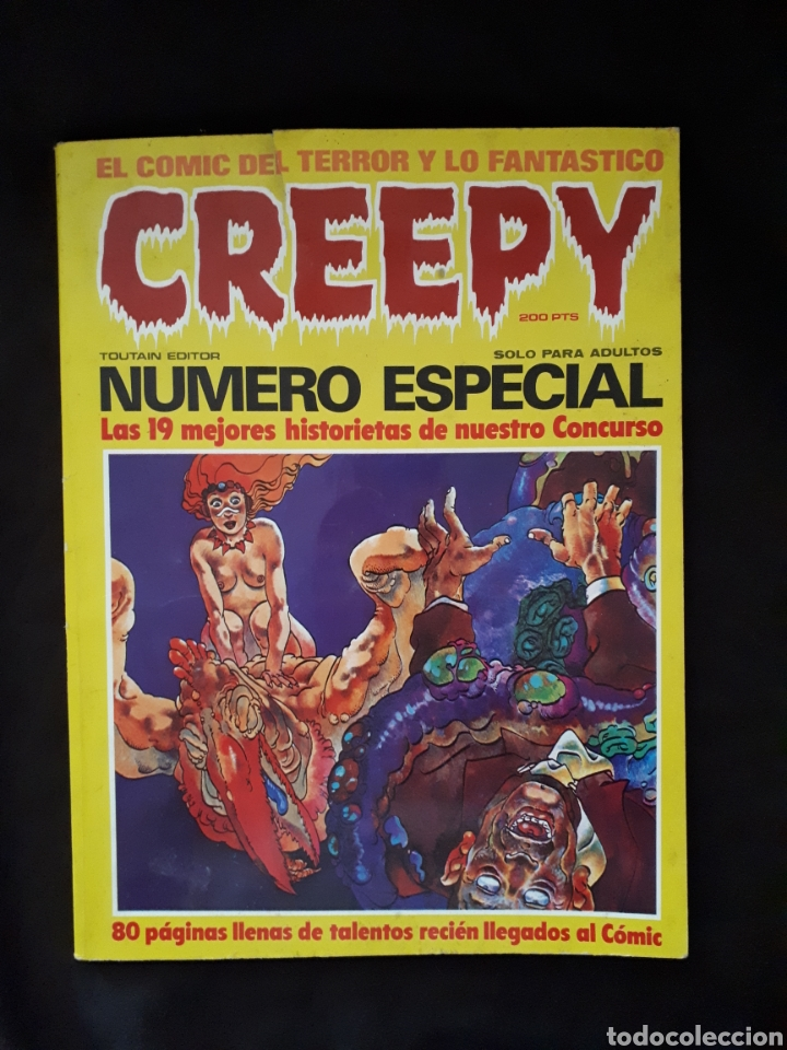 CREEPY. NÚMERO ESPECIAL. (Tebeos y Comics - Toutain - Creepy)