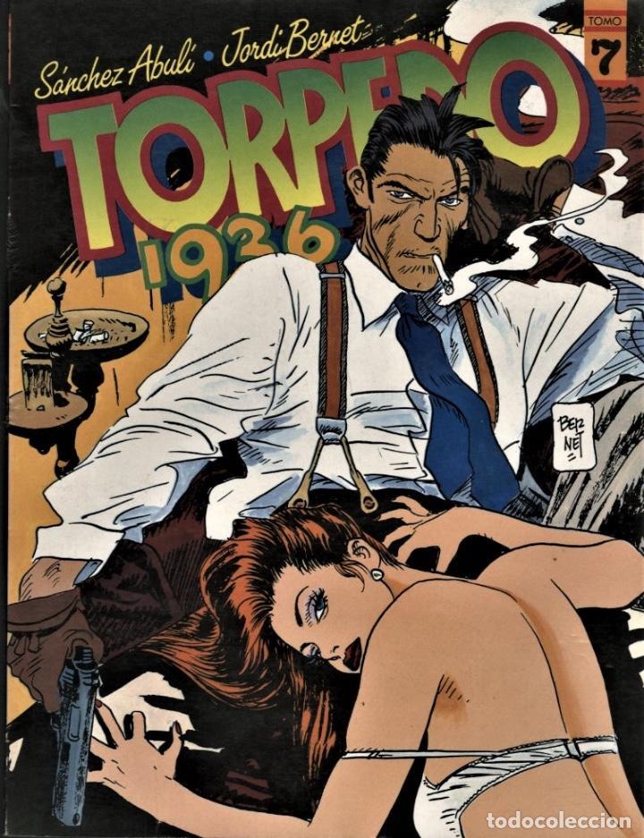 TORPEDO 1936-7 (TOUTAIN, 1989) DE BERNET Y ABULÍ (Tebeos y Comics - Toutain - Álbumes)