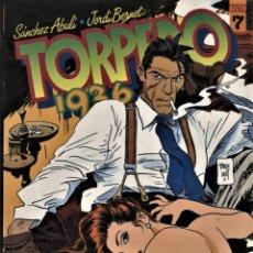 Cómics: TORPEDO 1936-7 (TOUTAIN, 1989) DE BERNET Y ABULÍ. Lote 126691847