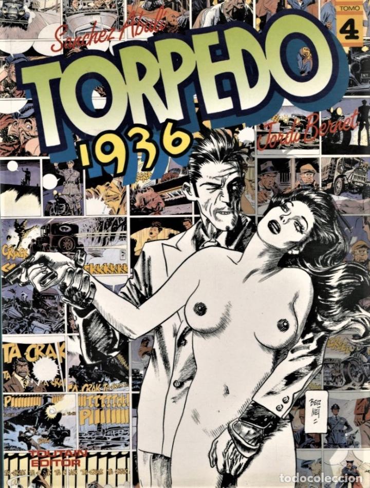 TORPEDO 1936-4 (TOUTAIN, 1986) DE BERNET Y ABULÍ (Tebeos y Comics - Toutain - Álbumes)