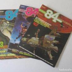 Cómics: COMICS ZONA 84 - NUMEROS 1, 2 Y 3. Lote 126843159