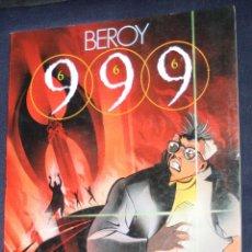 Cómics: 999 (666) (DE JOSÉ Mª BEROY )- TOUTAIN EDITOR - AÑO 1988.. Lote 127675719