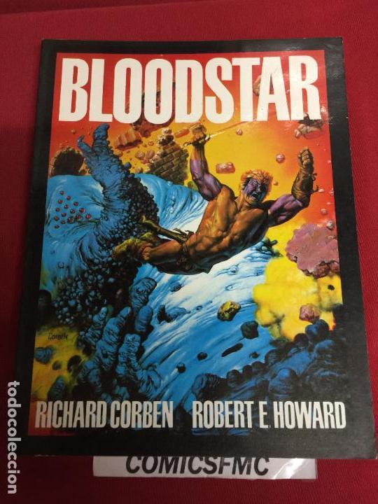 BLOODSTAR RICHARD CORBEN Y ROBERT E. HOWARD BUEN ESTADO REF.14 (Tebeos y Comics - Toutain - Otros)
