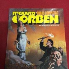 Cómics: OBRAS COMPLETAS NUMERO 9 RICHARD CORBEN Y DENNIS CINNINGHAN BUEN ESTADO REF.14. Lote 127788695