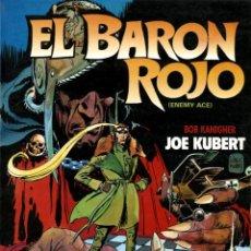 Cómics: EL BARÓN ROJO (ENEMY ACE) DE JOE KUBERT Y BOB KANIGHER (TOUTAIN, 1984). Lote 128034127