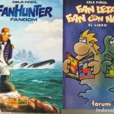 Cómics: CELS PIÑOL2 COMICS- 1 FANHUNTER FANDOM Y FAN LETAL FAN CON NATA--PANINI Y FORUM- COMO NUEVOS. Lote 128047439