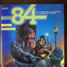 Cómics: ZONA 84 ANTOLOGIA Nº 3 RETAPADO Nº 8-9-10 TOUTAIN 1984 NUEVO. Lote 128049491