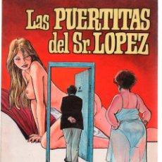 Cómics: LAS PUERTITAS DEL SR. LOPEZ. CARLOS TRILLO HORACIO ALTUNA. TOUTAIN. Lote 128067091