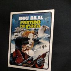 Comics: PARTIDA DE CAZA - ENKI BILAL - TOUTAIN - . Lote 128069831