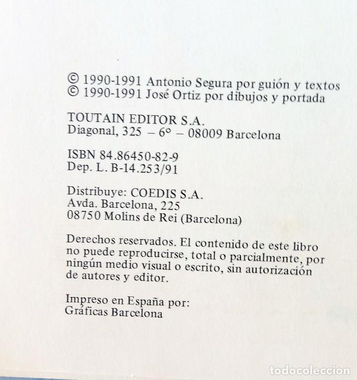 Cómics: Burton & Cyb - Vol. 4 - Jose Ortiz & Antonio Segura - Toutain editor - Foto 2 - 128367567