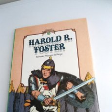Cómics: HAROLD R. FOSTER CUANDO EL COMIC ES NOSTALGIA Nº 3 - SALVADOR VAZQUEZ DE PARGA - TOUTAIN EDITOR 1983. Lote 128437487