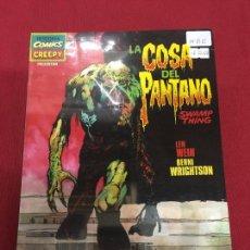 Cómics: HISTORIA DE LOS COMICS CREEPY LA COSA DEL PANTANO MUY BUEN ESTADO REF.15. Lote 128611807