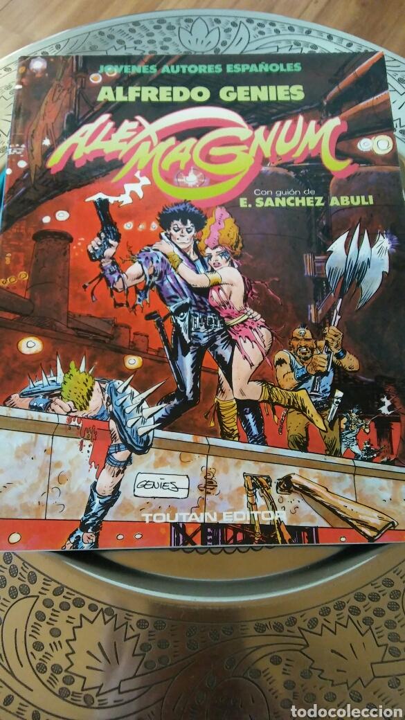 JÓVENES AUTORES ESPAÑOLES.ALFREDO GENIES. ALEX MAGNUM.TOUTAIN EDITOR (Tebeos y Comics - Toutain - Álbumes)