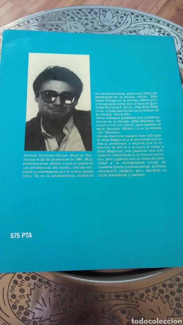 Cómics: Jóvenes autores españoles.Alfredo genies. Alex magnum.toutain editor - Foto 2 - 129140707