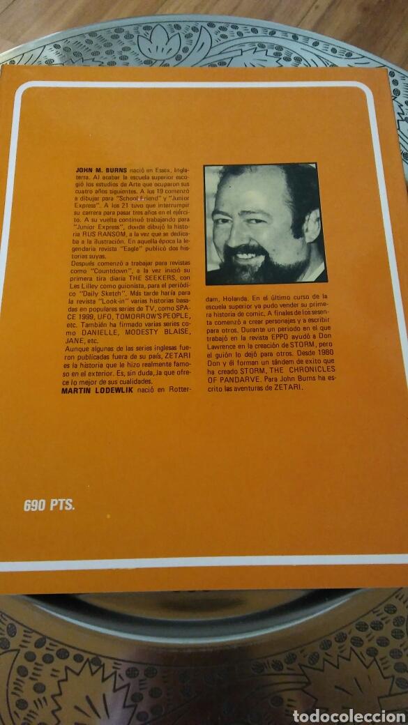 Cómics: Grandes autores europeos. John.m.Burns.zetari. el demonio rojo.toutain editor - Foto 2 - 129143642