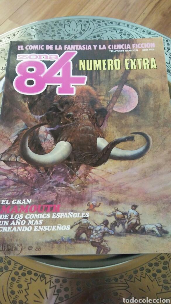 ZONA 84 NUMERO EXTRA. ALMANAQUE 11987.TOUTAIN EDITOR (Tebeos y Comics - Toutain - Zona 84)
