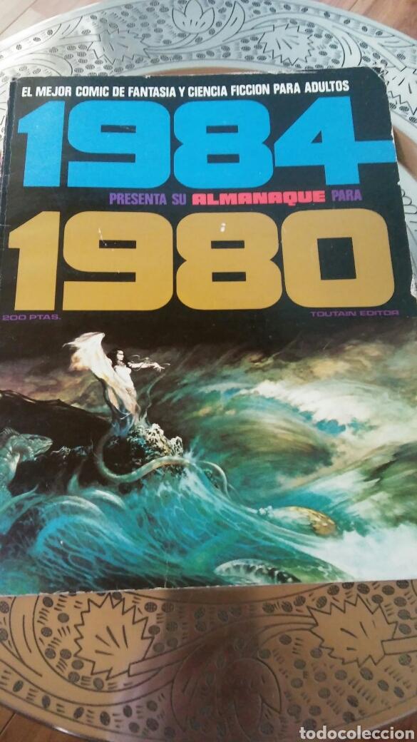 1984.ALMANAQUE 1980.TOUTAIN EDITOR. (Tebeos y Comics - Toutain - Zona 84)