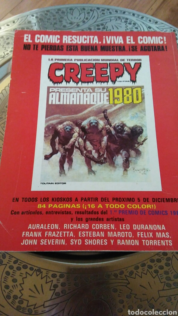 Cómics: 1984.almanaque 1980.toutain editor. - Foto 2 - 129145435