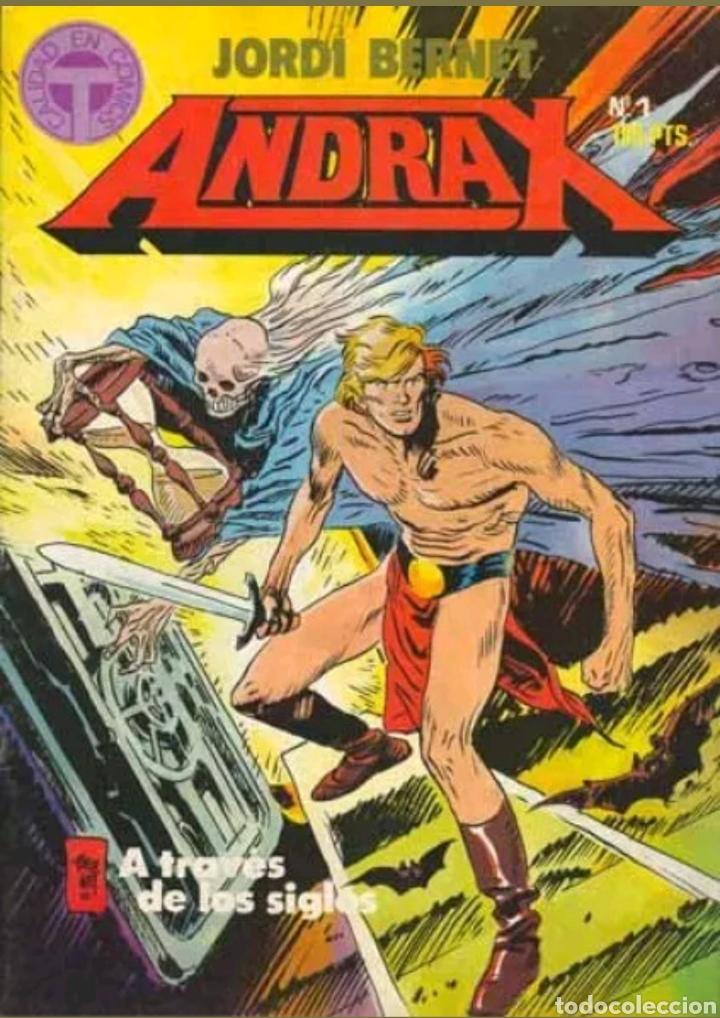 COMIC N°1 ANDRAX 1987 (Tebeos y Comics - Toutain - Otros)