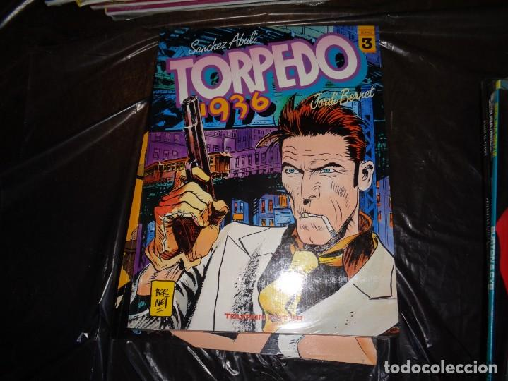 TORPEDO 1936 NºS 3,4,7 BERNET-ABULÍ-TOUTAIN. (Tebeos y Comics - Toutain - Álbumes)