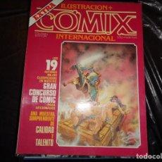 Cómics: ILUSTRACIÓN+COMIX INTERNACIONAL-EXTRA CONCURSO 1983. Lote 129353835