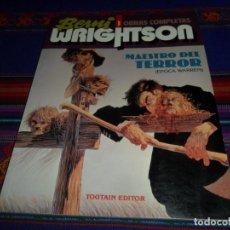Cómics: BERNI WRIGHTSON OBRAS COMPLETAS Nº 1 MAESTRO DEL TERROR ÉPOCA WARREN. TOUTAIN 1992. MBE.. Lote 152954296