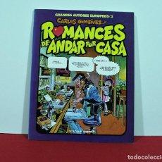 Cómics: ROMANCES DE ANDAR POR CASA , CARLOS GIMENEZ. Lote 129556251