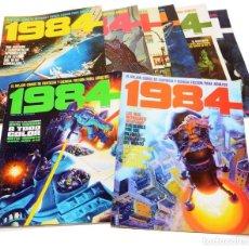 Cómics: COMIC - COLECCIÓN COMPLETA TOUTAIN - 1984 - 64 NÚMEROS + 3 ALMANAQUES. MUY BUEN ESTADO. Lote 185985355