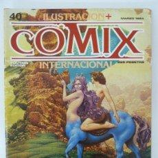 Cómics: COMIX INTERNACIONAL. Nº 40. Lote 129979587
