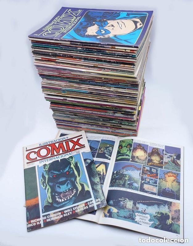 COMIX INTERNACIONAL COMPLETA 1 A 70 - TOUTAIN - BUEN ESTADO - OFS15 (Tebeos y Comics - Toutain - Comix Internacional)