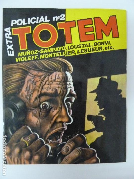 TOUTAIN TOTEM EXTRA POLICIAL Nº 2 (Tebeos y Comics - Toutain - Otros)