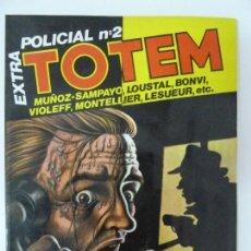 Cómics: TOUTAIN TOTEM EXTRA POLICIAL Nº 2. Lote 130311490