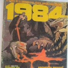 Cómics: 1984 TOUTAIN EDITOR Nº 47 AÑO 1982.. Lote 130521406