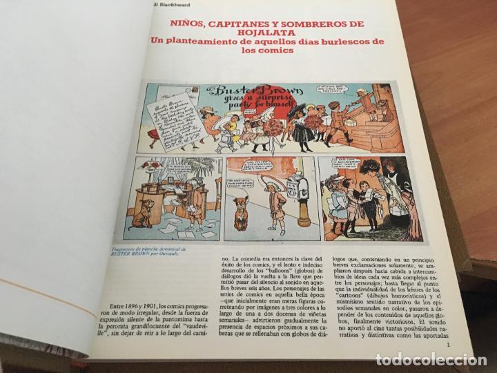 Cómics: HISTORIA DE LOS COMICS COMPLETA EN 4 TOMOS (TOUTAIN) (COIM6) - Foto 5 - 130684984