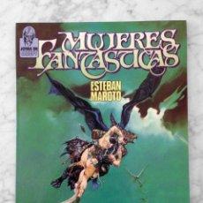Fumetti: MUJERES FANTASTICAS - ESTEBAN MAROTO - JOYAS DE CREEPY - TOUTAIN - 1986. Lote 130727039
