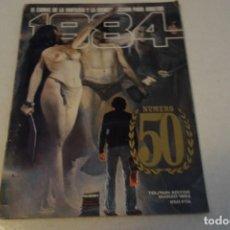 Cómics: 1984 NÚM 50. Lote 130855928