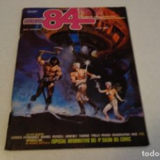 Cómics: ZONA 84 . Nº 2: THE DOME BATTLE POR RICHARD CORBEN, LA QUIMERA POR CRAIG RUSSELL. Lote 130856656