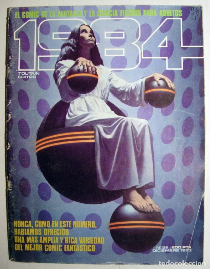 COMIC 1984 - Nº 59 - FANTASÍA Y CIENCIA FICCIÓN TOUTAIN EDITOR. (Tebeos y Comics - Toutain - 1984)