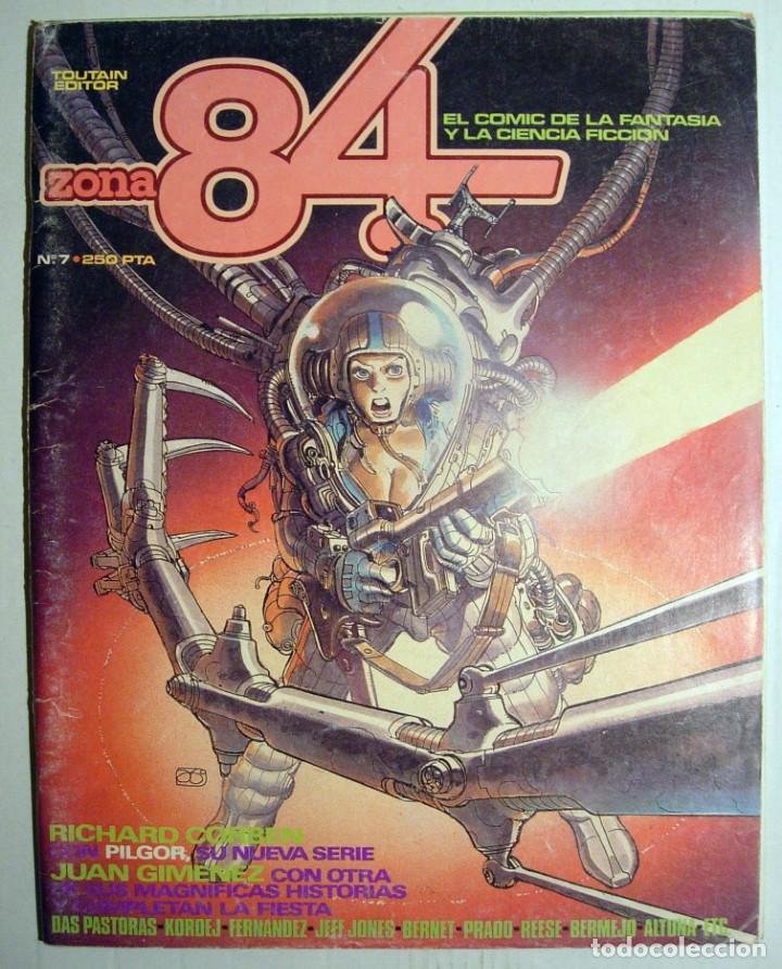 COMIC ZONA 84 - Nº 7 - TOUTAIN EDITOR. (Tebeos y Comics - Toutain - Zona 84)