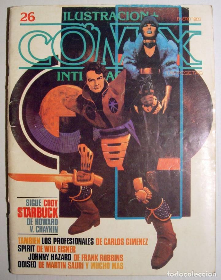 COMIC INTERNACIONAL - Nº 26 TOUTAIN EDITOR. (Tebeos y Comics - Toutain - Comix Internacional)