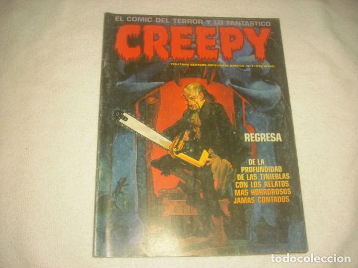 CREEPY Nº 1, SEGUNDA EPOCA (Tebeos y Comics - Toutain - Creepy)
