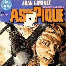 Cómics: AS DE PIQUE - Nº 6 - APASIONANTES HISTORIETAS DE AVIACIÓN- 1988- GENIAL JUAN GIMÉNEZ-M.BUENO-9309. Lote 254154340