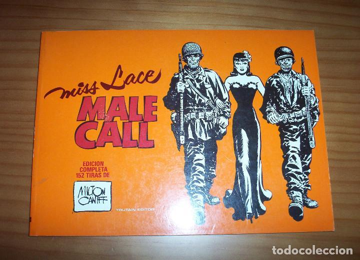 MISS LACE. MALE CALL - EDICIÓN COMPLETA 152 TIRAS - AUTOR: MILTON CANIFF - AÑO 1982 -PERFECTO ESTADO (Tebeos y Comics - Toutain - Otros)