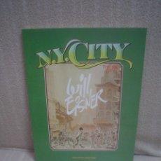 Cómics: N.Y. CITY (THE BIG CITY) - WILL EISNER - TOUTAIN. Lote 132374438