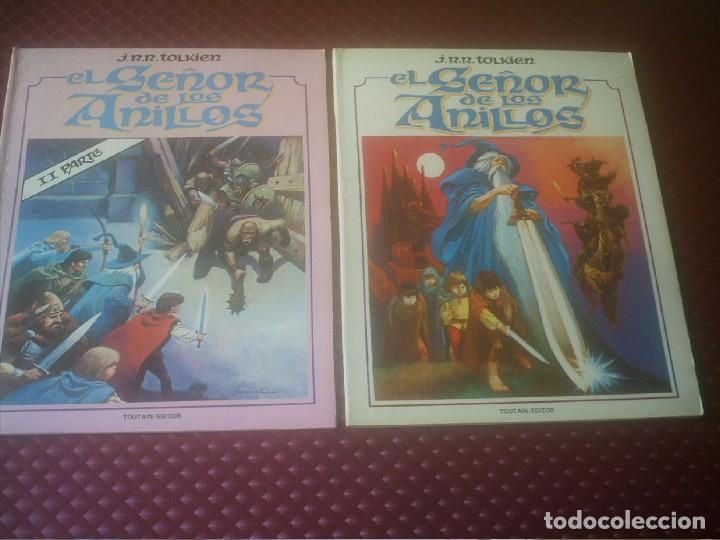 EL SEÑOR DE LOS ANILLOS 1ª Y 2ª PARTE J.R.R.TOLKIEN (Tebeos y Comics - Toutain - Otros)